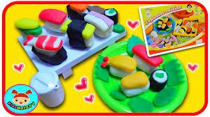 play doh cuisine play doh japanese cuisine sushi playset kidsmatetv