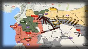 Syria Fighting Map by Video Map The War On Isis In Syria January To June 2017 June