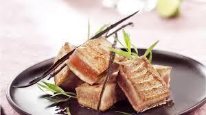 cuisiner thon recette thon au balsamique vanillé cuisiner le thon