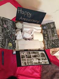 1 year anniversary gifts best 25 anniversary care package ideas on care