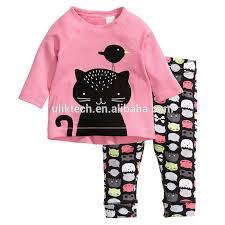 pajamas sets cat pijamas pyjamas baby