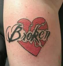 good broken heart tattoo designs 95 in bracelet tattoo designs
