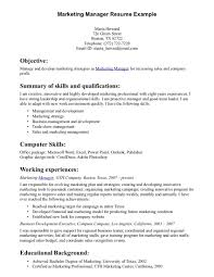 examples of resumes for customer service  resume marketing manager resume example resume key skills resumes       examples of resumes