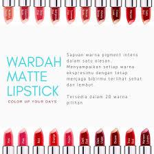 Wardah Matte Lipstick wardah matte lipstick 3 8 gr di belanjaqu co id