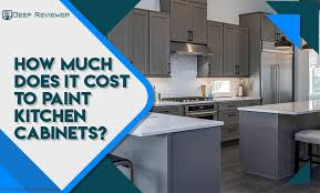 how much does it cost to paint kitchen cabinets professionally how much does it cost to paint kitchen cabinets new 2020