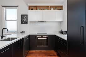 black kitchen cabinets nz all class in black and white q bix