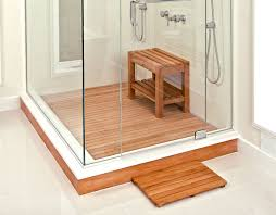 teak mat for shower floor mobroi com shower mat