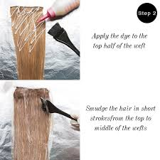 how to ambray hair how to dye your extensions ombre frontrow