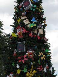 disney world christmas trees show off unique decorations disney