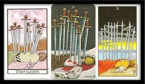 ten of swords tarot card meaning