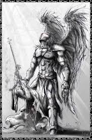 saint michael the archangel drawing warrior archangel michael