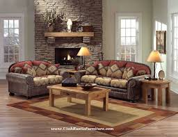 Rustic Living Room Sets Bradley S Furniture Etc Utah Rustic Living Room Furniture
