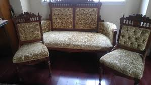 Recovering A Settee Victorian Settee Sofas U0026 Chaises Ebay