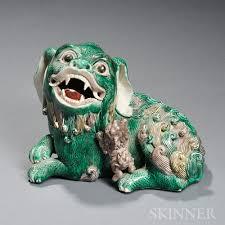 foo lions for sale sancai style ceramic foo lion with a cub sale number 2783t lot