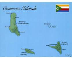 map comoros maps of comoros detailed map of comoros in tourist map