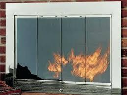 fireplace door with er fireplace glass doors airtight fireplace door with er