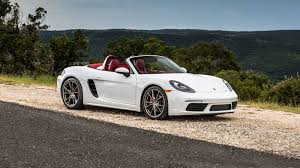custom porsche boxster 2018 porsche 718 boxster review u0026 ratings edmunds
