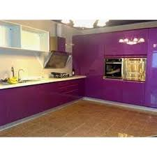 lacquered glass kitchen cabinets lacquer glass modular kitchen