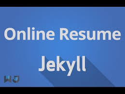 Build Resume Online For Free by How To Create Resume Online For Free Tutorial 17 Youtube