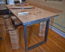 Industrial Standing Desk by Standing Desk Top Etsy