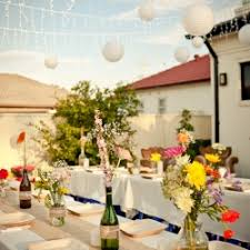 Backyard Engagement Party Decorations by Check Out Our Diy Fun And Colorful Backyard Engagement Party In