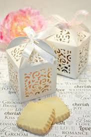 cookie box favors shower favors shortbread cookie favor boxes 30 white boxes