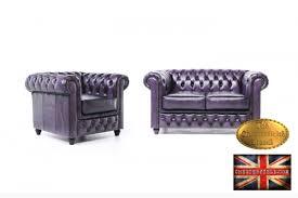 canapé chesterfield violet chesterfield canapé antique violet 2 1 places andevanne ardennes