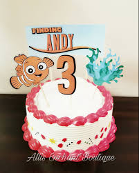 nemo cake toppers finding nemo cake topper cake decorations nemo cakes cake