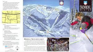 Montana Road Report Map by Montana Snowbowl Skimap Org