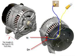 how to instal a bosch alternator in a discovery in less than 2