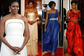 obama dresses best of obama s state dinner dresses from brandon