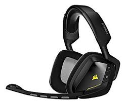 amazon black friday wireless headphones amazon com corsair gaming void wireless rgb gaming headset