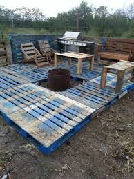 Build Your Own Wooden Patio Table by Diy Pallet Patio Decks With Furniture Pallet Deck Furniture