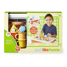 Kitchen Sink Set by Just Like Home Kitchen Sink Set Toys