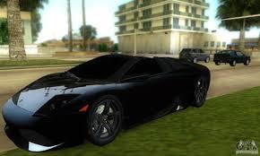 Lamborghini Murcielago Convertible - lamborghini murcielago lp640 roadster for gta vice city