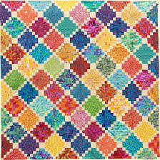 colorful courthouse quilt fabric pack at glorious color kaffe