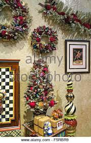 mackenzie childs store interior display nyc stock photo