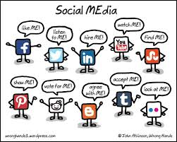 Social Media Meme - the me generation gets proactive about social media habits the