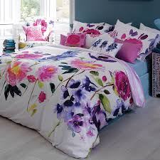taransay duvet cover floral bedding bluebellgray love