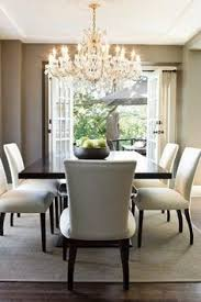 dining room decor ideas transitional style grey upholstered