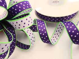 polka dot ribbon embellishment world ribbon grosgrain polka dot size 3 8