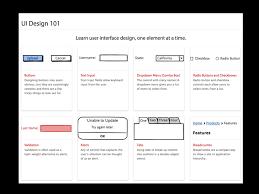 ui pattern names introducing ui design 101 the balsamiq blog