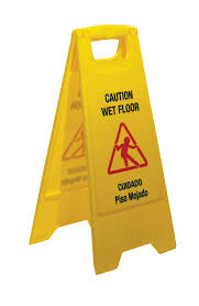 Wet Floor Images by Product Catalog A Frame Wet Floor Sign