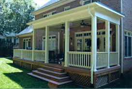 covered porches southern porch u0026 patio co fresh back porch 7