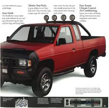 nissan pickup custom 1990 nissan hardbody trucks dealer brochure nicoclub