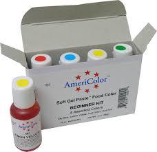 Americolor Soft Gel Paste Food Color Kits