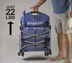 Lawn Chair With Umbrella Attached Loungepac The Portable Beach Chair Featuring A Fridge Umbrella