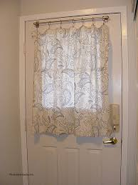 Door Panel Curtains Sheer Curtain For Door Window Awesome Decorating Beautiful Half