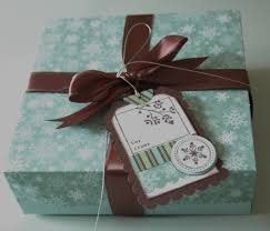 stampin u0027 up christmas gift boxes enchantink