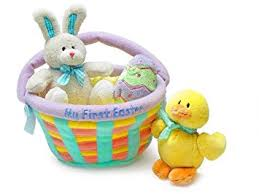 pre made easter baskets for babies my easter basket baby gund toys